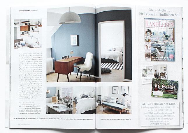 """OH WHAT A ROOM in der Zeitschrift """"20 Private Wohnträume"""""""