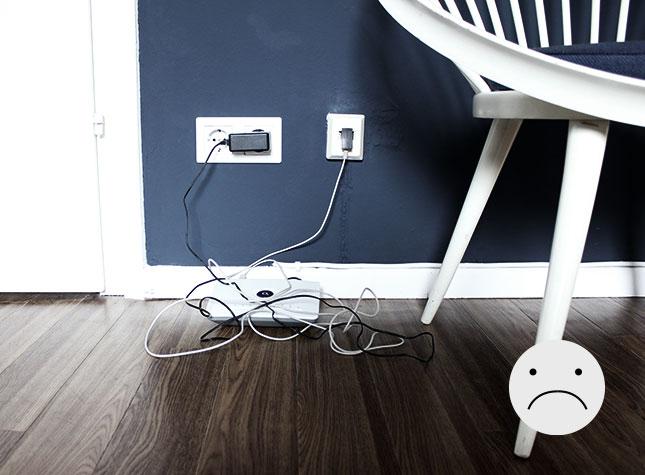 hiding cables