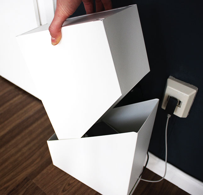 ikea hack: hiding cables