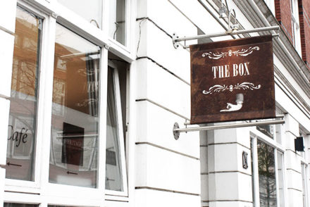 """The Box"" in Hamburg Ottensen"