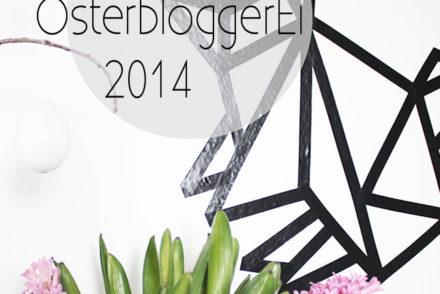 Oster-DIY #3: ein Origami-Hase für die Wand