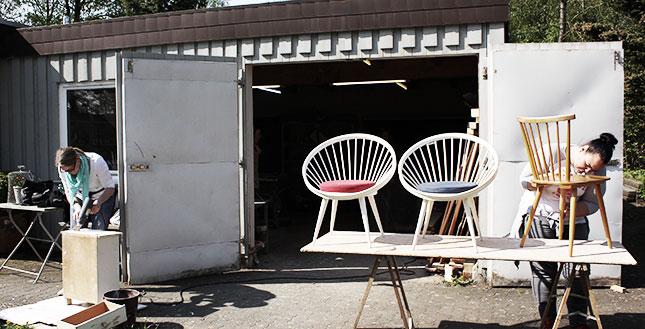 Workshop bei der Wohnwerkstatt StukenBrock