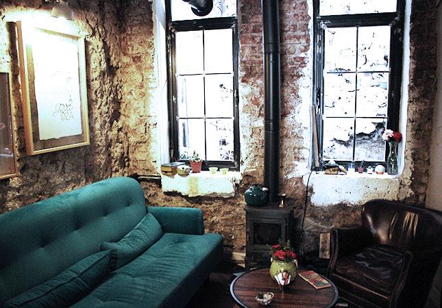 Shopping in Istanbul: das Café Pas