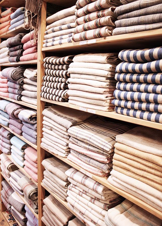 Shopping in Istanbul: Hamamtücher bei Hars
