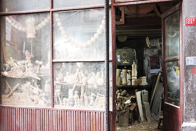 Drechsler-Werkstatt Istanbul