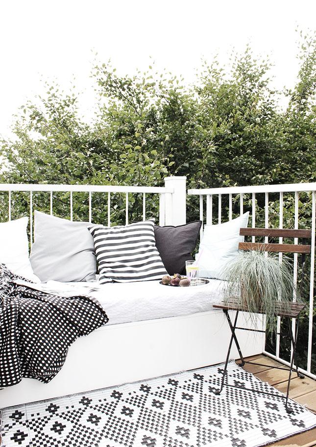 Mein selbst gebautes Sitzpodest für unseren Balkon