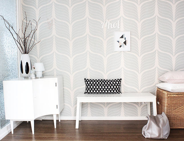 Unser flur pretty in pastel oh what a room