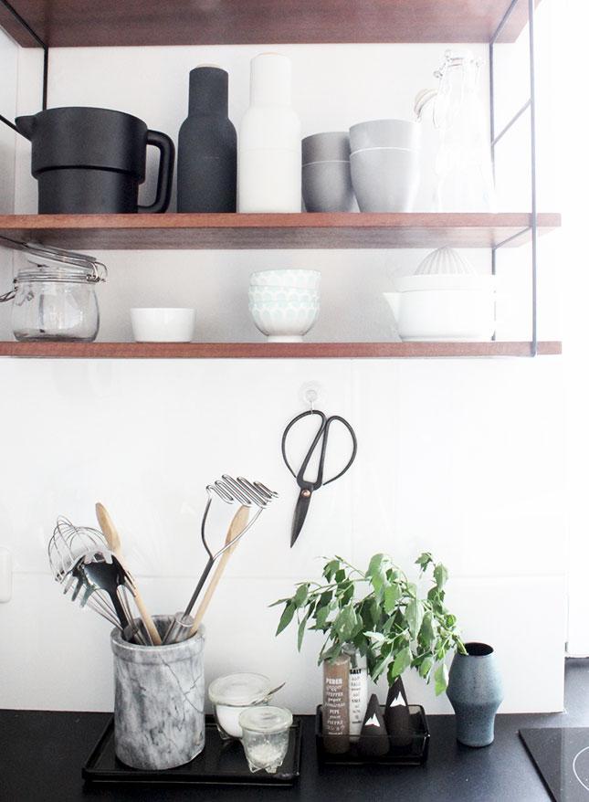 Gartenmelde in unserer Küche