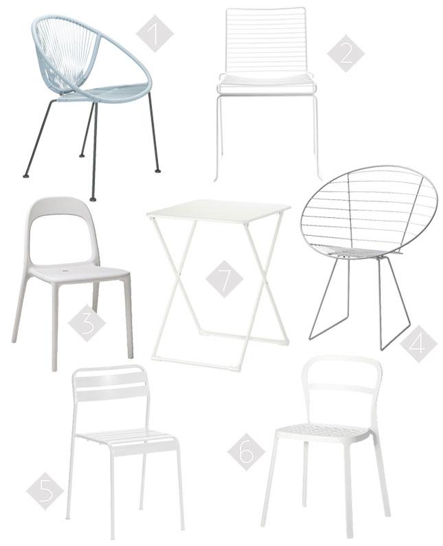 Wannahaves: Stuhl-Favoriten für den Balkon