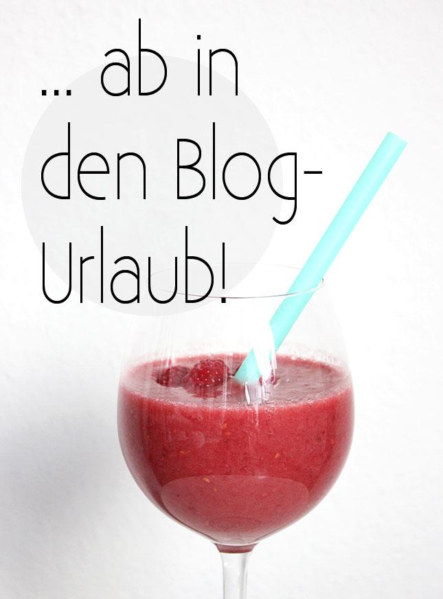 Kleine Blog-Pause