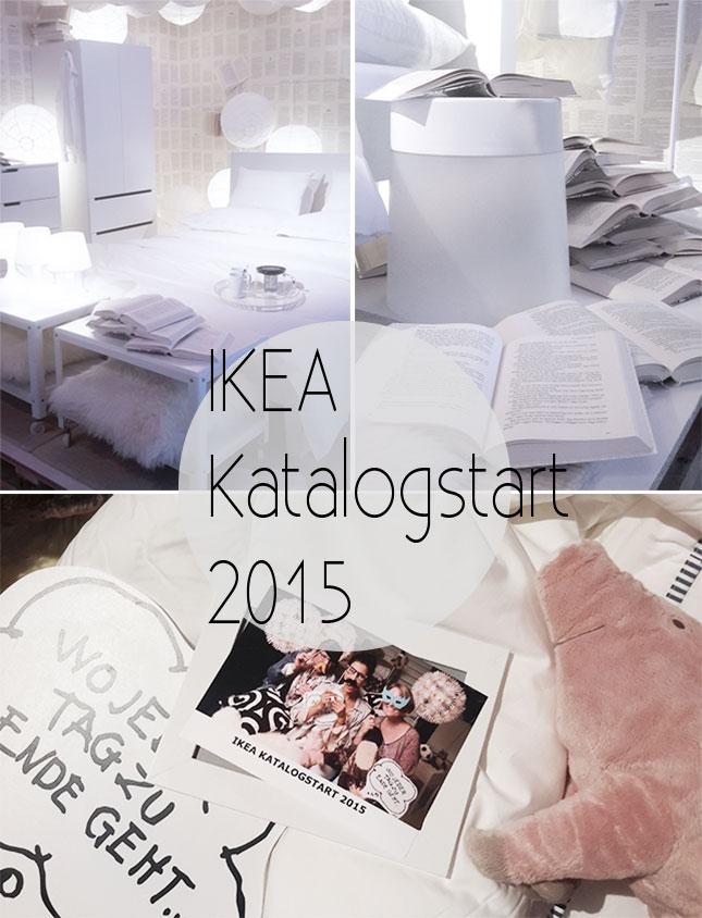 Ikea-Katalogstart 2015 in der Hafencity