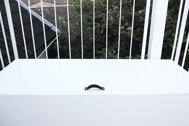 Sitzpodest Balkon