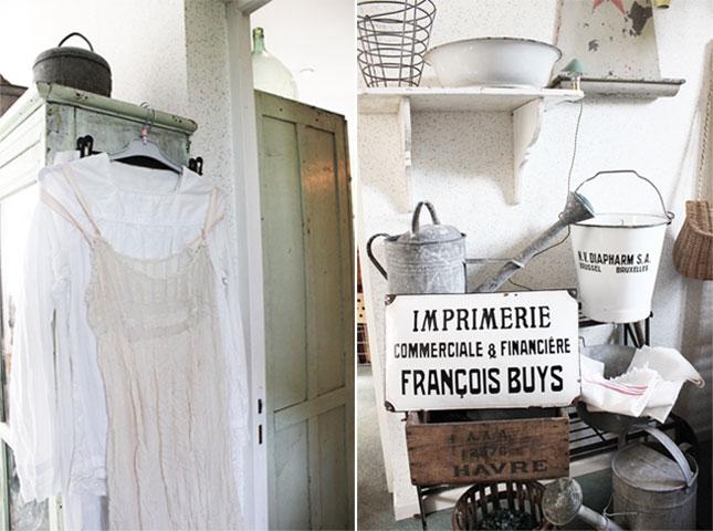 Shoppen in der Normandie: Libellule Brocante