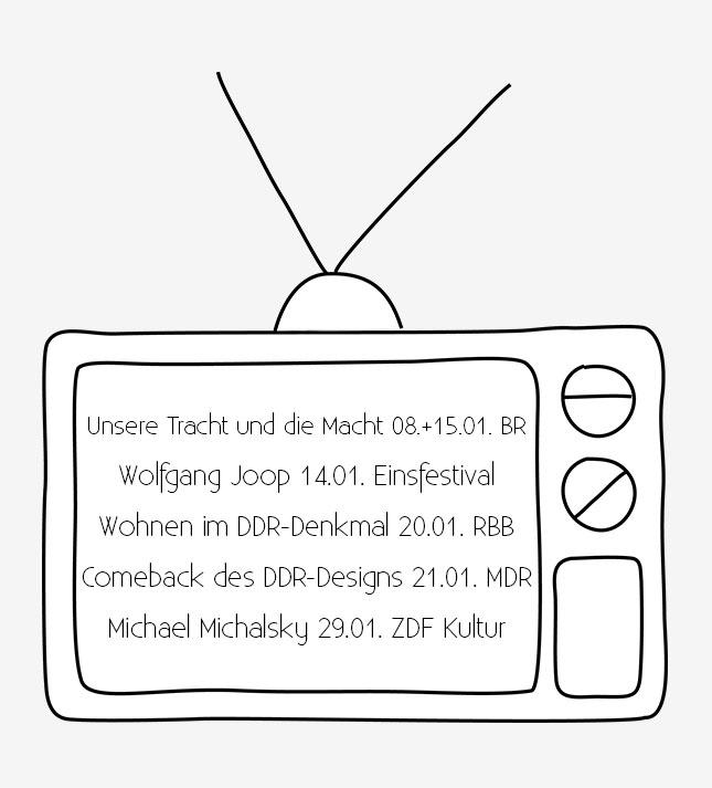 Design im TV Januar 2015