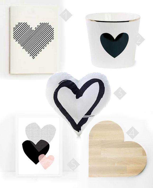 Wannahaves zum Valentinstag: Deko mit Herz