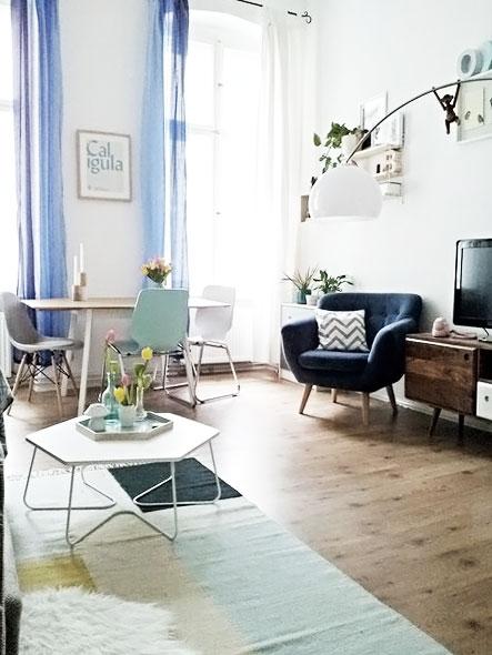 Auf Zimmerschau: Janas Wohnung macht Lust auf Frühling!