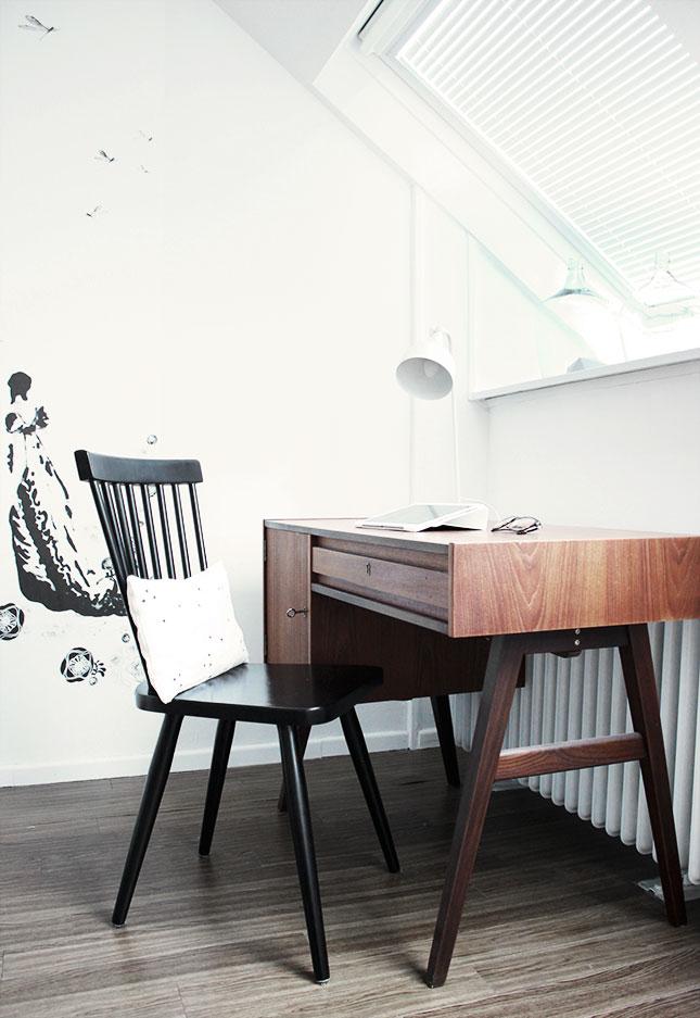 Schreibtisch, Schreibtisch, du musst wandern… – oh what a room