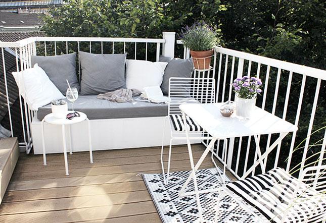 Oh what a room: mein balkonien mit diy sitzpodest und immer noch ...