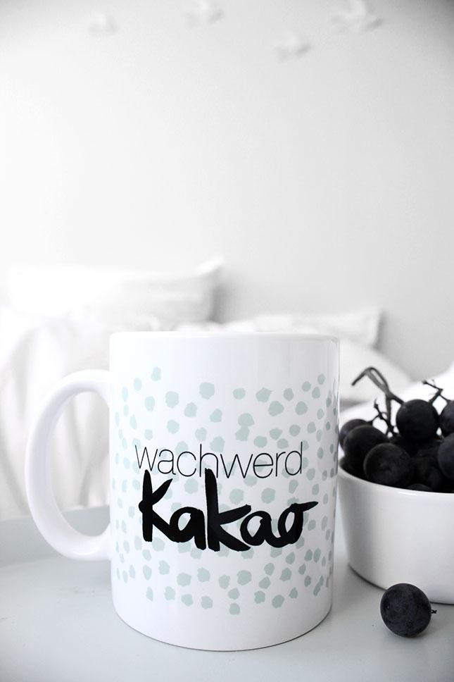 Wachwerd-Kakao-Tasse von Formart.