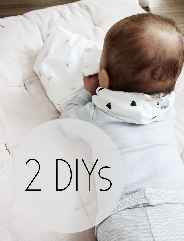 DIY: Baby-Schlauchschal und Knistertuch