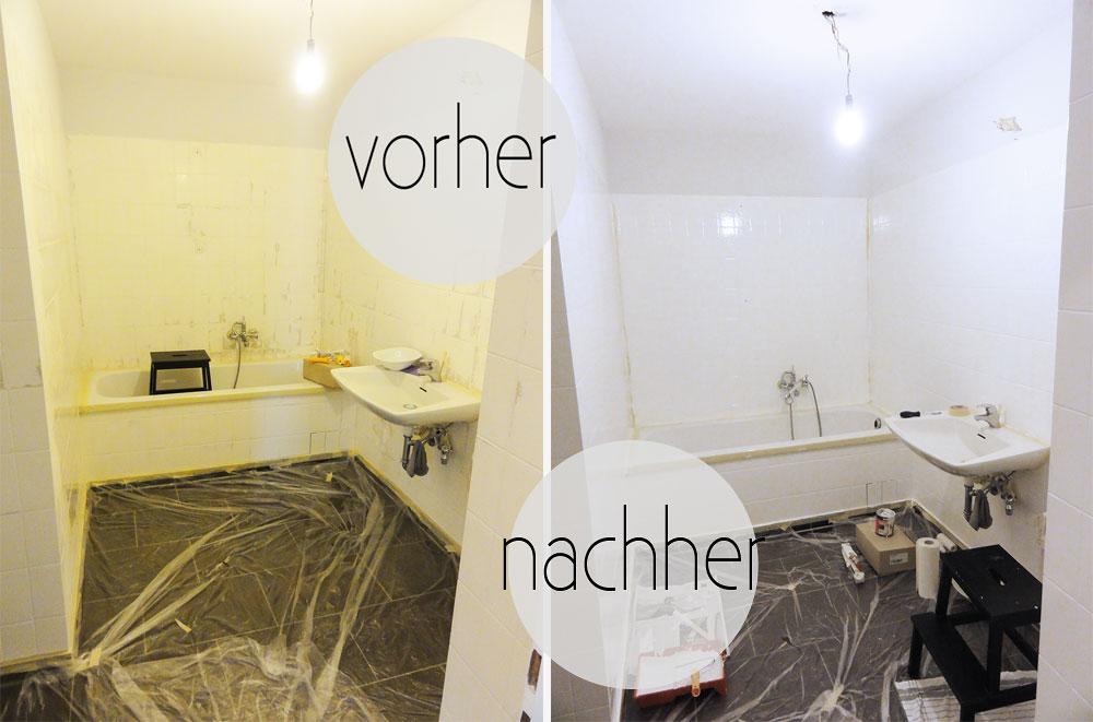 Mein Bad voller DIYs – #1 Fliesen streichen! – oh what a room