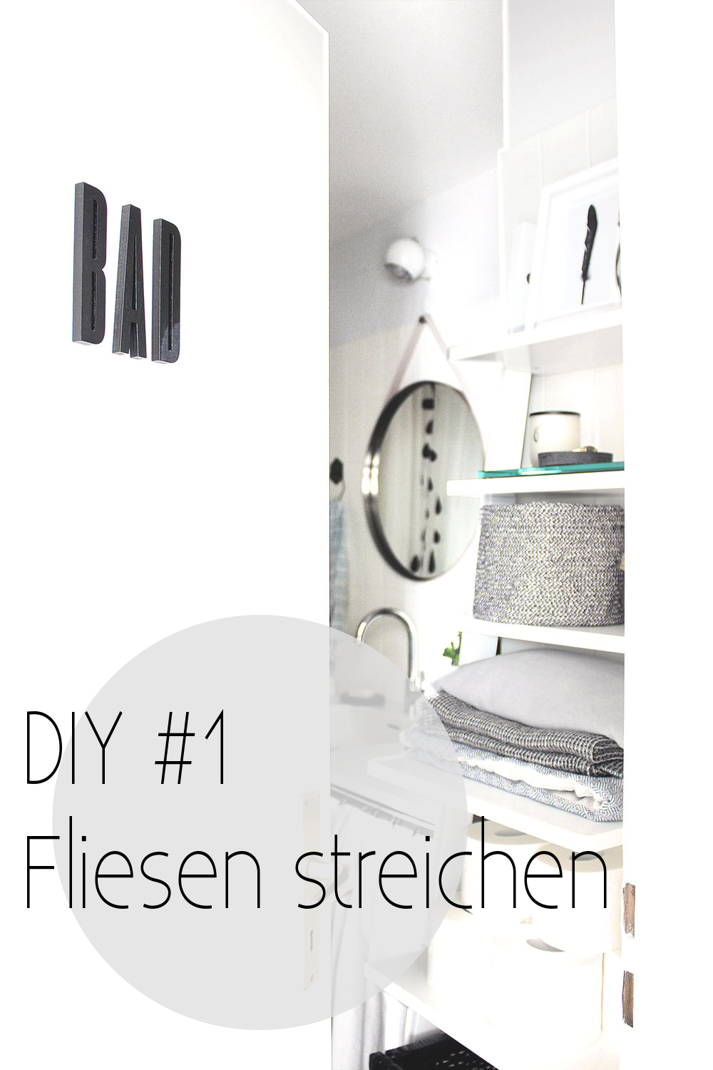 mein bad voller diys 1 fliesen streichen oh what a room. Black Bedroom Furniture Sets. Home Design Ideas