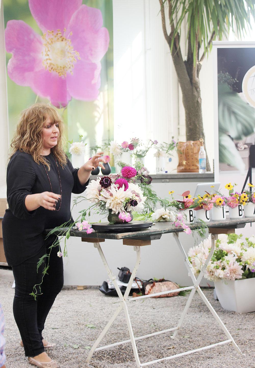 Blumenworkshop bei Callwey mit Anastasia Benko