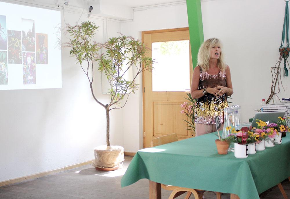Trend-Vortrag beim Callwey-Event mit Gudy Herder