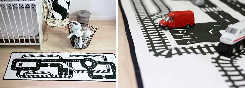 Spielteppich von Die kleine Designerei.