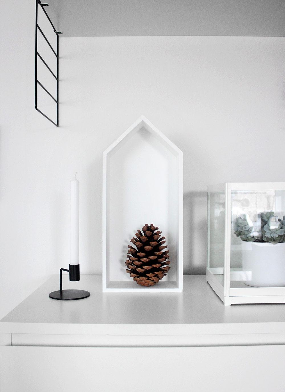 Schwarz Weiße Weihnachtsdeko.Weihnachtsdeko Ganz Natürlich Oh What A Room