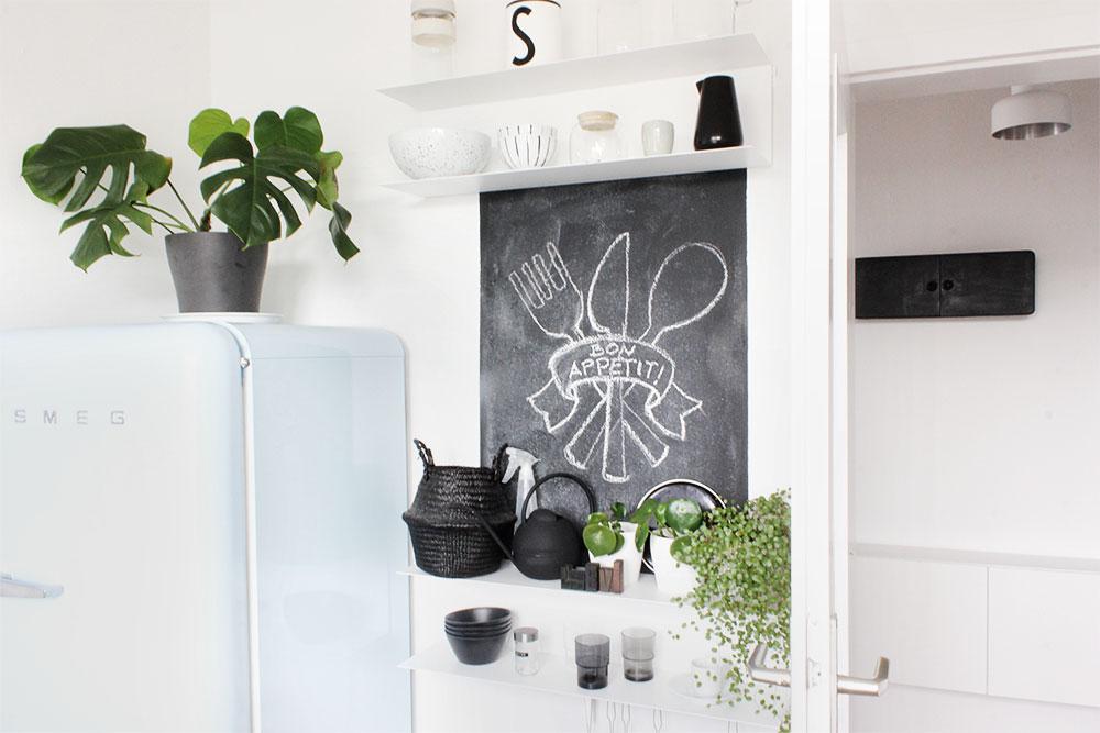 Urban Jungle in der Küche und Kinderküche
