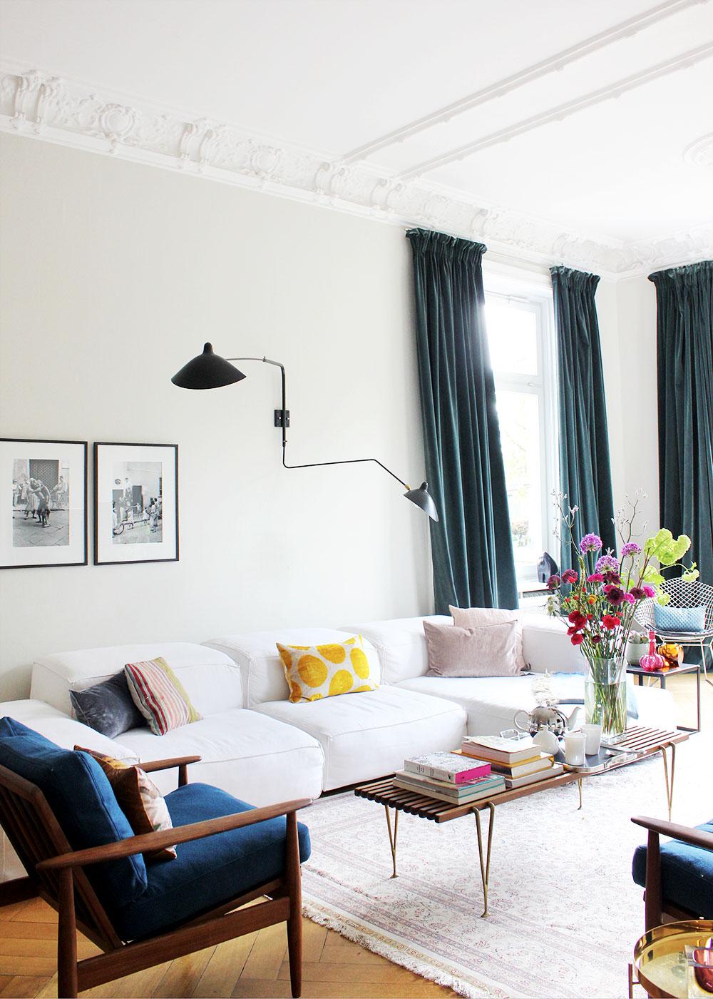 purismus wohnung mit eklektischer einrichtung, oh what a room:zimmerschau: eklektischer mix bei modebloggerin sue, Design ideen