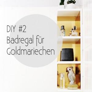 Mein Bad voller DIYs - #2 Badregal für Goldmariechen