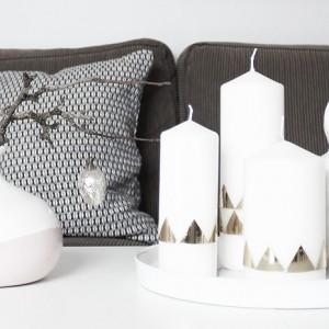 Ein goldiges Kerzen-DIY