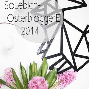 OsterbloggerEi: Ein Origami-Hase für die Wand, mein Oster-DIY #3