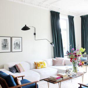 Zimmerschau: eklektischer Mix bei Modebloggerin Sue Giers