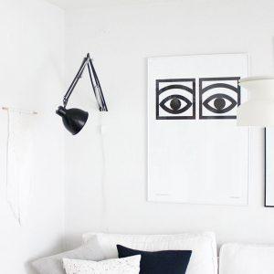 Ein neuer, spezieller Platz für meinen Lampen-Liebling (statt eines Neukaufs!)