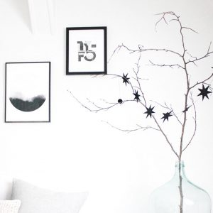 Unser Weihnachtsbaum in schwarz-weiß, meine liebsten X-mas DIYs und mehr...