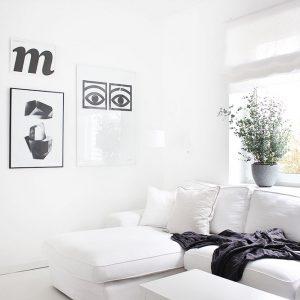 Wie wohnen in weiß auch weiß bleibt - meine besten easy peasy Putztipps für Wände, Textilien, Böden und Möbel