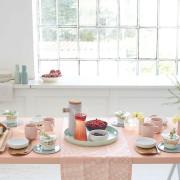 Schöner Tischdecken beim Schöner Wohnen Workshop