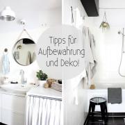 Mein Bad - #5 Tipps für Aufbewahrung und Deko